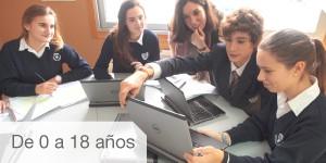 Etapas educativas Colegio Internacional Pontevedra